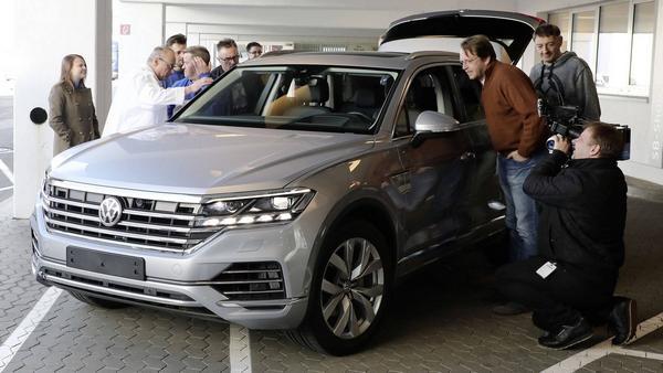 Nouveau Volkswagen Touareg 2020