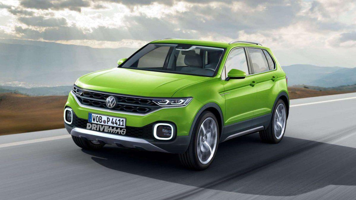 Nouveau Volkswagen T-Cross 2020
