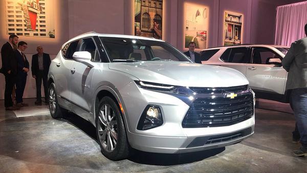 Nouveau Chevrolet Blazer 2021