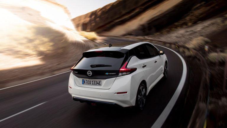 Nouveau Nissan Leaf 2021
