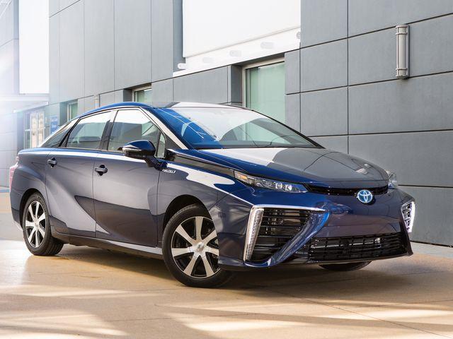 Nouveau Toyota Mirai 2021