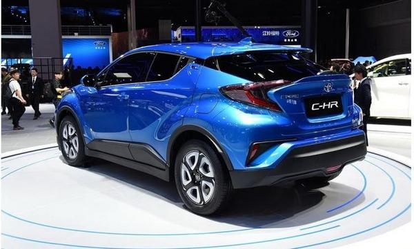 Nouveau Toyota C-HR électrique 2021