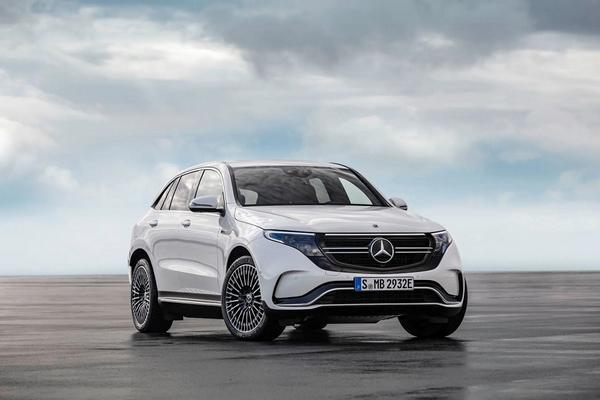 Nouveau 2021 Mercedes-Benz EQC