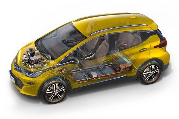 Nouveau 2021 Opel Ampera-e