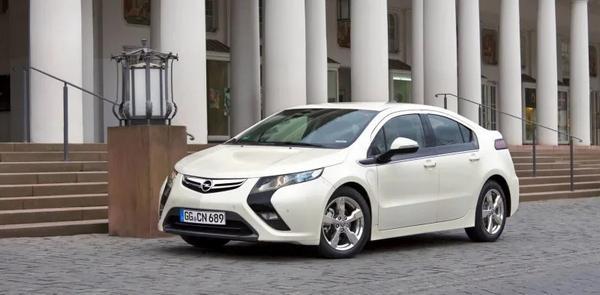 Nouveau 2021 Opel Ampera Range Extender
