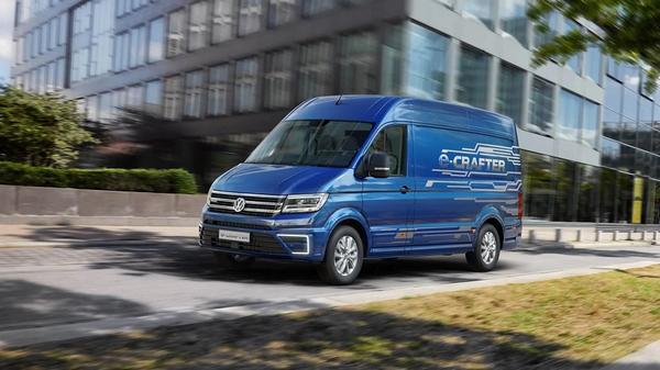 Nouveau 2021 Volkswagen e-Crafter BEV