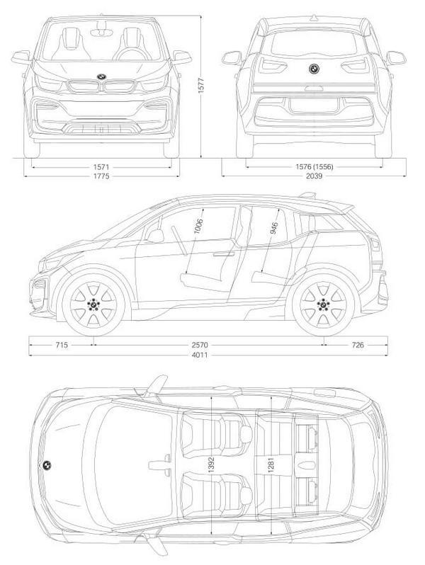 Nouvelle BMW i3 2021
