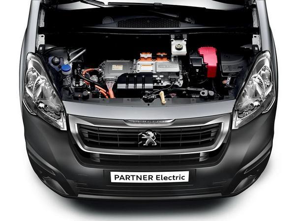 Nouveau 2021 Peugeot Partner Electric