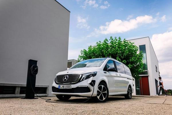Nouveau 2021 Mercedes-Benz EQV