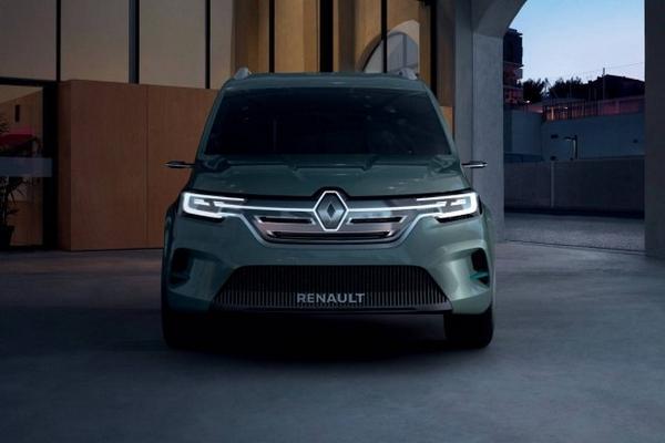 Nouveau 2021 Renault Kangoo Z.E