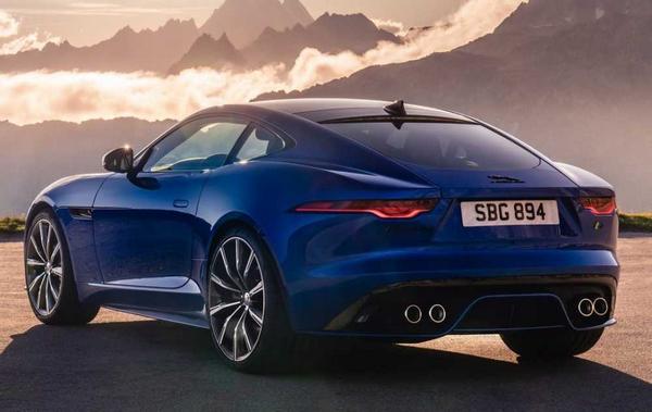 Jaguar F-Type Coupé 2021