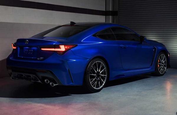 Lexus RC F Sport 2021