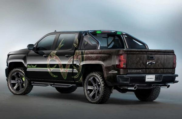Nouveau Chevrolet Silverado 2021