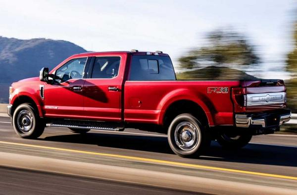 Ford King Ranch F-250 2021
