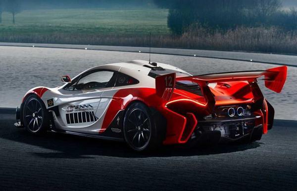 McLaren P1 GTR 2021